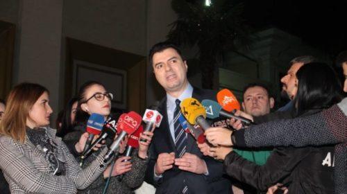 """VIDEO – """"Opozita gjithçka për votën e lirë dhe të ndershme"""", Lulzim Basha i përgjigjet Yuri Kim për """"Zgjedhoren"""""""
