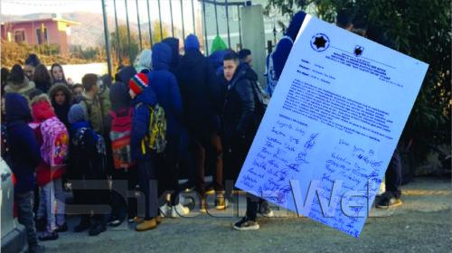 Nxënësit në Vau- Dejës bojkotojnë mësimin- nuk u ndizet kaldaja, prindërit: Jo ngrohjes me gaz, bombulat rrezikojnë jetën…