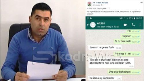 VIDEO/ Pas tërheqjes nga Kategoria e Parë, Tomori i Beratit nis publikimin e mesazheve me arbitrat…