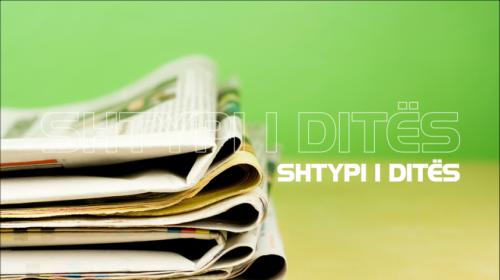 GAZETAT/ Faqet e para të shtypit të përditshëm shqiptar, e premte 15 mars 2019…