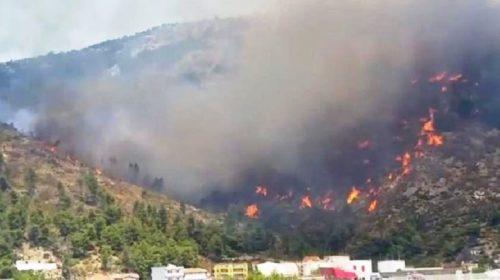 Shoqërohem katër persona, dyshohet për zjarrvënie të qëllimshme në Malin e Shëngjinit…