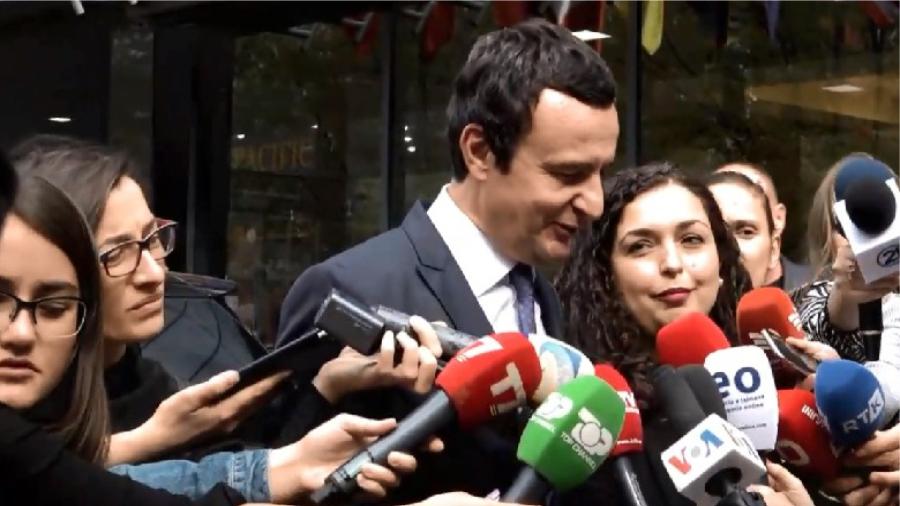 Albin Kurti llogarit edhe kryeparlamentaren Vjosa Osmani në krah të tij si opozitë e qeverisë Hoti të LDK-së e aleatëve…
