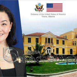 """""""Reforma Zgjedhore po përparon shumë"""", ambasadorja amerikan reagon pas mbledhjes së Këshillit Politik…"""