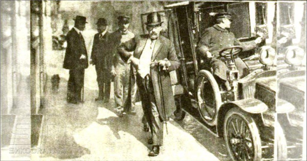 """DOKUMENTI – Si u """"harrua"""" në mórg në Paris Esat Pasha edhe një vit pas áténtátit të Avni Rustemit…"""
