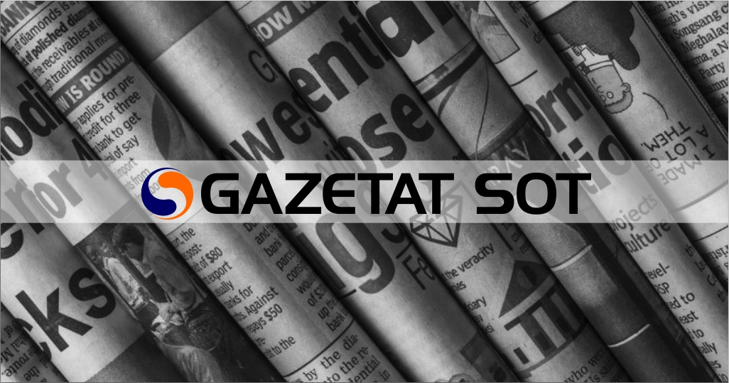 SHTYPI I DITËS – Çfarë shkruajnë gazetat shqiptare për ditën e sotme, e merkurë 20 maj 2020…