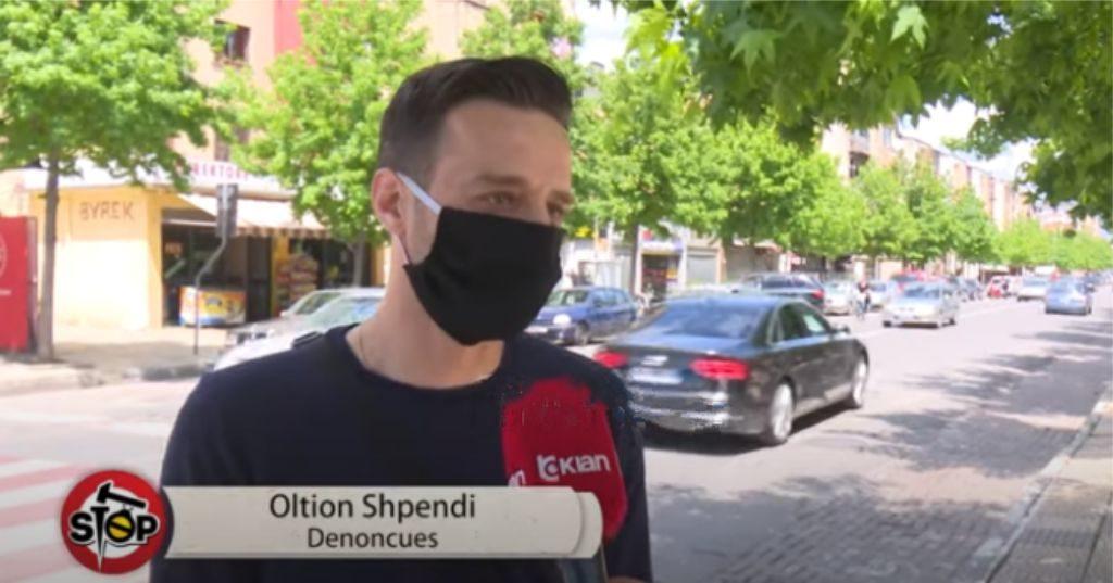 NDODH NË SHKODËR – Parakaloi drejtorin e Policisë, i bllokohet patenta dhe makina qytetarit (video)