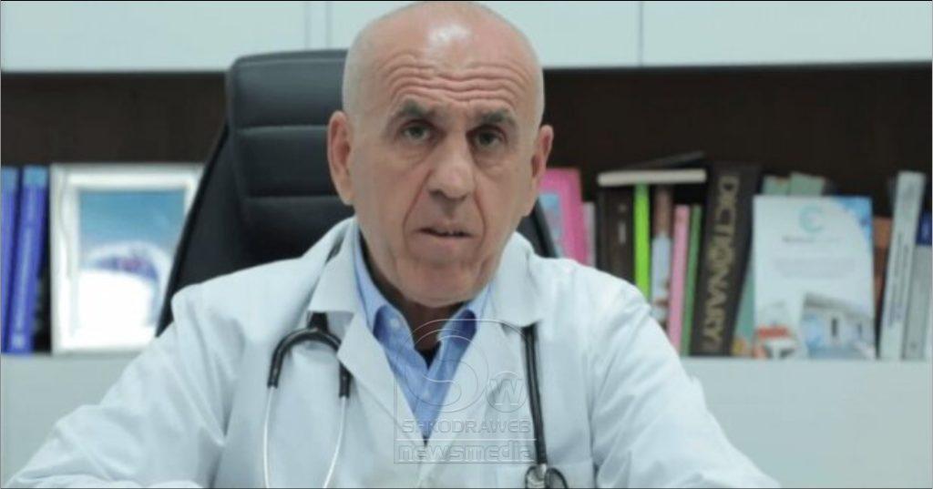 """""""Historia jonë me virusin po shkon drejt mbylljes"""", mjeku i njohur Pipero: Besoj se ne fund te majit do lirohem edhe fundjavat…"""