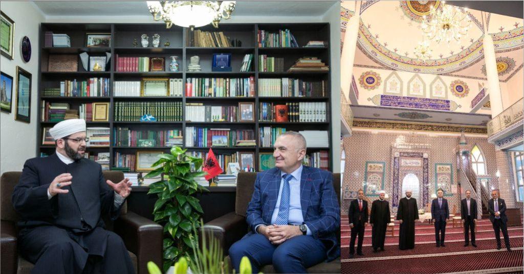 """FOTO – """"Zoti nuk i do arrogantët e mburravecët"""", Presidenti Meta mesazh nga Shkodra: Besimi më i mirë, durimi"""