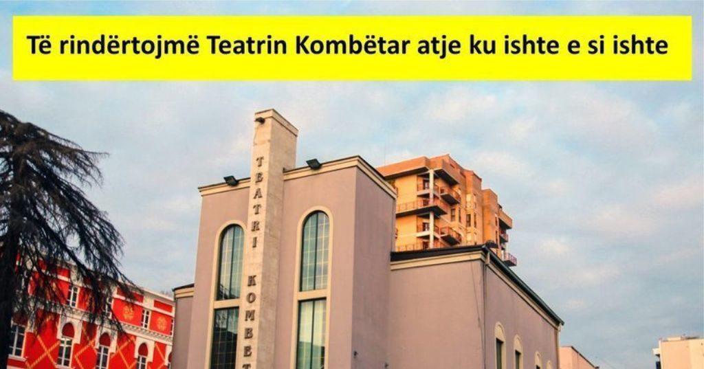 FOTOLAJM – E rrënoi para 8 ditëve por Bashkia Tiranë e paraqet akoma si atraksion turistik Teatrin Kombëtar…