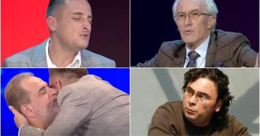 """""""Të të puth pak…?"""", pas replikave me poetin e njohur për Teatrin Kombëtar, aktori i Portokallisë braktis studion televizive…"""