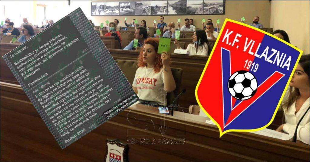 FOTOLAJM – Këshilli Bashkiak në dyshim për vlefshmërinë e Bordit të Vllaznisë së zgjedhur, del mesazhi në grupin e PS-së