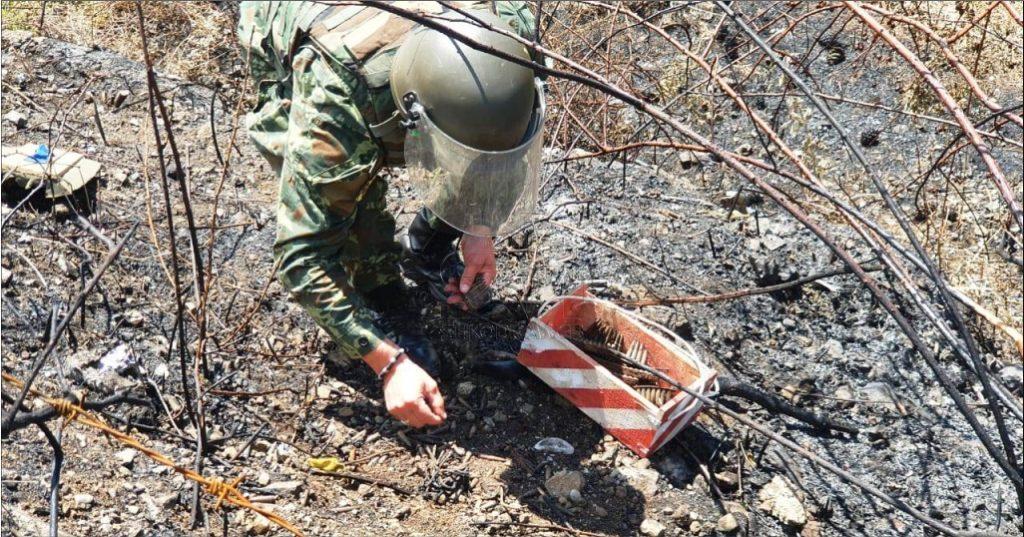 FOTOLAJM – U gjetën para dy ditëve në Gurin e Zi, xhenierët e Ministris së Mbrojtjes nisin neutralizimin e municioneve