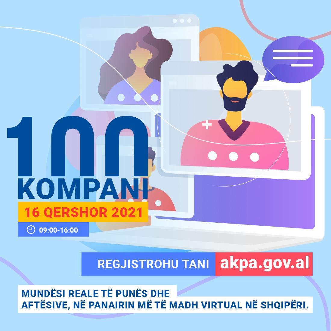 Panairi virtual i punës dhe aftësive 2021